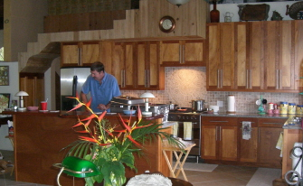 Alan in Kitchen