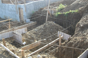 Generator Room Floor Footings and Steel