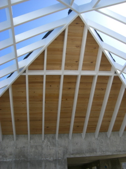 Grt room ceiling started